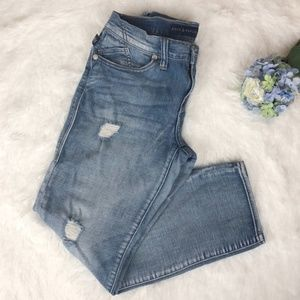 Rock & Republic Indee Crop Distressed Jeans 4